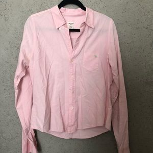 Abercrombie Vintage Pink Button-Down